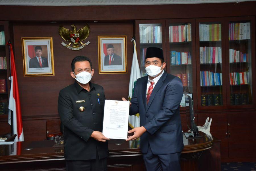 Gubernur Ansar Berpesan Lakukan Konsolidasi Dan Penguatan Kinerja