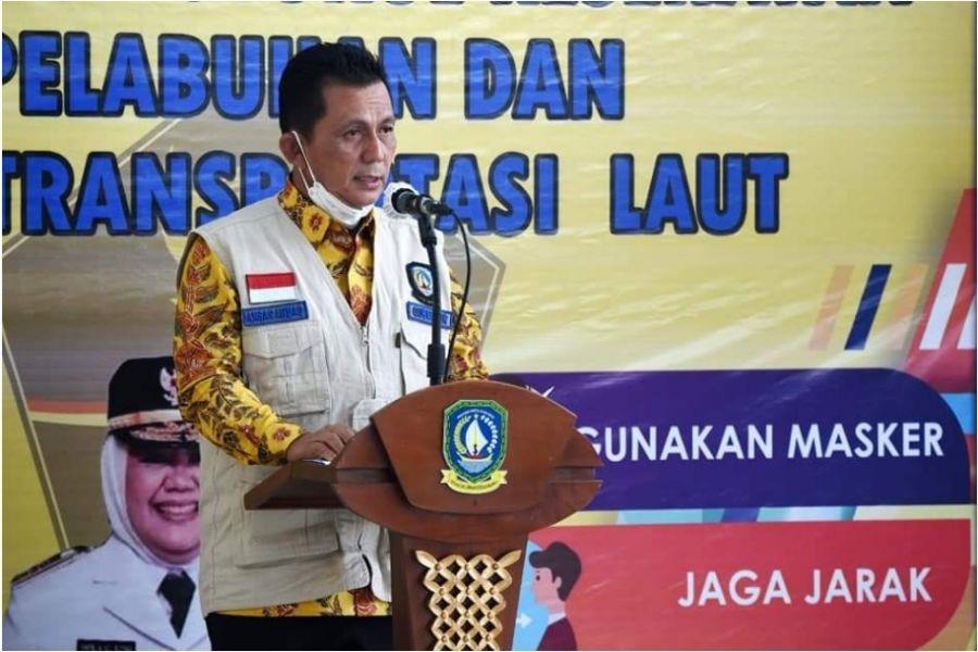 Terkait Pemulangan PMI, Gubernur minta TNI - POLRI Awasi Pelabuhan Tidak Resmi