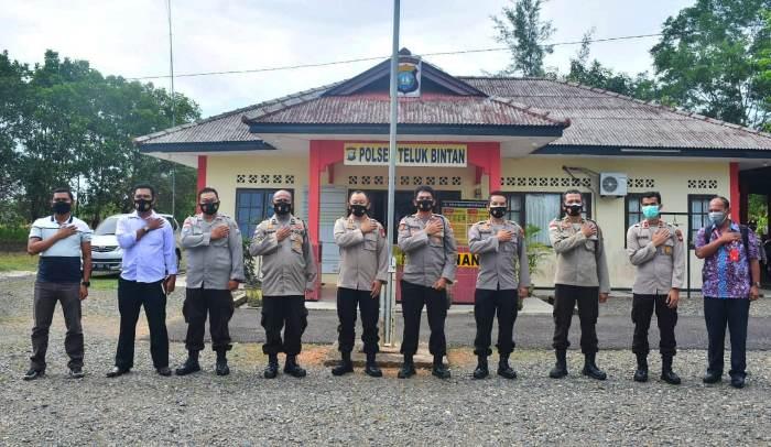Polda Kepri Kunjungi Polres Bintan Demi Percepat Pembangunan RUMDIS