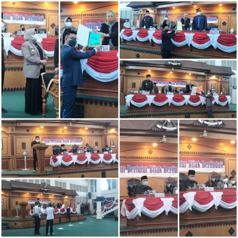 DPRD Tanjungpinang Gelar Rapat Paripurna Pertanggungjawaban Pelaksanaan APBD TA 2020