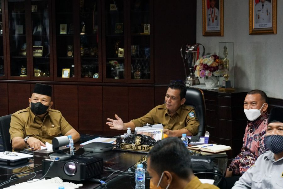 Rencana Pembangunan Pelabuhan Samudera Teluk Buton, Gubernur Kepri Bahas Bersama Dubes KBRI Tokyo