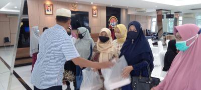 Tingkatkan Keimanan Di Bulan Ramadhan, Pipal Lantamal IV Gelar Tausiah Secara Virtual